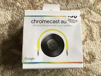 Chromecast Audio - boxed and barely used!