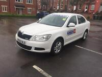 Skoda Octavia Greenline 2013 registered,leeds taxi in excellent condition throughout
