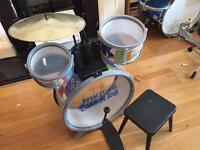 Toddler's drum kit