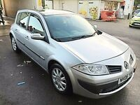 2006 Renault Megane 1.6 i VVT 5dr Dynamique Facelift Model clio focus civic cora astra golf leon a3