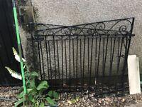 PAIR OR WROUGHT IRON GATES