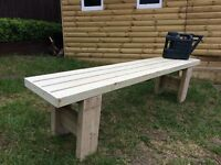 New handmade Large treated timber garden bench