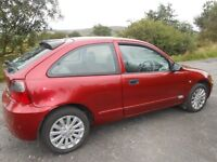 Dec 06 rover 25 for sale