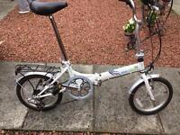Foldable adults bike.
