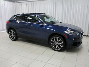 2018 BMW X2 28i x-DRIVE w/ HEAD UP DISPLAY, NAVIGATION, BACK U