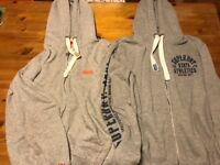 2 X Men's Superdry Hoodies, Size Medium, Great condition