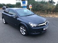 2007 VAUXHALL ASTRA SRI 8 SERVICES STAMPS 144.K