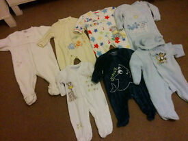Big bundle of boys winter clothes and accessories 0-6months