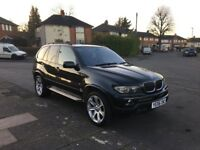 BMW X5 3.0D SPORTS EXCLUSIVE EDITION PANARAMIC ROOF 2006