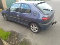 Peugeot 306 for sale - Spares or repairs