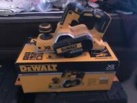 Brand new Dewalt planer used twice if that!