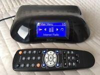 Sagem WIFI Internetradio,Alarm Clock LAN, WLAN, USB