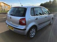 Volkswagen Polo S, 1.4l petrol, 5 door, Silver, 61,000 miles, immaculate condition, full service
