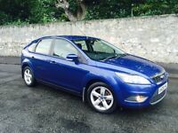 FORD FOCUS 1.6 ZETEC 2008 NEW SHAPE LOW MILEAGE MOT 1 YEAR FULL SERVICE HISTORY