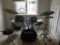 5 piece Yamaha drum kit