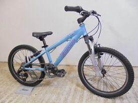 "Carrera Luna Girls Kids 20"" Mountain Hybrid Bike 10"" Alloy Frame Used Fully Working & Serviced"