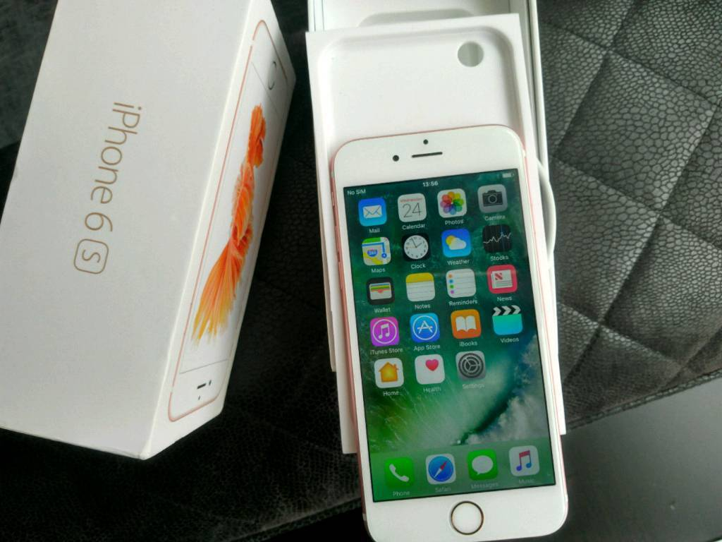 Iphone 6s 64gb Unlocked Mint Conditionin Blackburn, LancashireGumtree - I have for sale iphone 6s 64gb in Rose Gold. Fully unlocked as tested EE & o2 sims both working with 4g.The front & back in mint condition, cant see any scratches or marks anywhere just a tiny nick on corner. Item priced cheap do no silly offers.....