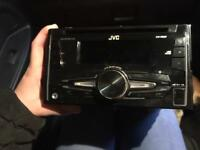 Jvc doubled in stereo