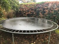 High quality 14 Ft Garden Trampoline - free to a good home