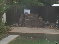 Free block paving - collection only