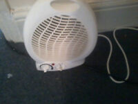 x2 small electric heaters