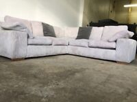 Grey dfs corner sofa, couch, suite, furniture 🚛🚚🚛