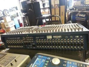 Sound Craft BB 24 Channel Mixer. We sell used Audio equipment.