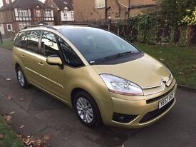 Citroen Grand C4 Picasso 1.8 i 16v VTR+ 5dr, p/x welcome, 6 MONTHS FREE WARRANTY