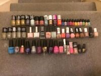 57 nail varnishes mostly new