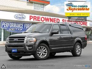 2017 Ford Expedition Max Limited***8 seater, NAV, Ecoboost***