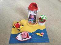 Peppa Pig Holiday Lighthouse Beachset
