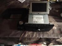 Mercedes e class w212 CD player satnav unit with screen