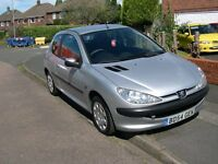Peugeot 206s Semi-Automatic (Rare Car) 1.4 3 Door 2004 54 Reg