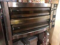 Cuppone Michelangelo Pizza Oven Double Deck