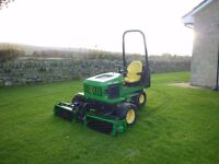 JOHN DEERE 2653A RIDE ON TRIPLE CYLINDER MOWER NO VAT