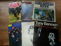 Record LP's x 6 Various Artists (89#)