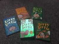 Dirty Bertie books x 5