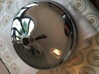 """Hudson Reed shower head 12"""" APRON FIXED HEAD CHROME perfect condition"""