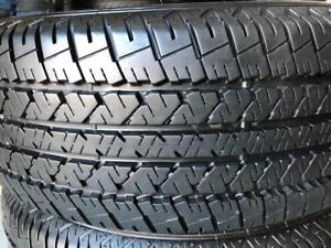 2 pneus 225/60/17 Firestone ete 10/32