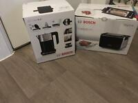 **BRAND NEW BOSCH KETTLE & TOASTER BOXED**