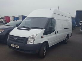 2013-13 plate rare ford transit 350-125 extra long jumbo van vat on final price