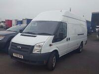2013-13 plate rare ford transit 350-125 extra long jumbo van vat on final price