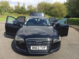 QUICK SALE AUDI A8 QUATTRO EXCLUSIVE SPORT 3.0 DIESEL AUTOMATIC FULLY LOADED HPI CLEAR 1 PREV OWNER