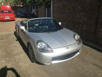 2002 TOYOTA MR2 1.8 VVTi MANUAL SILVER 140 BHP BREAKING FOR PARTS