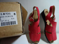 Hush Puppies Red sandals size 5