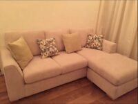 DFS Eleanor 4 Seater Lounger in cream *PERFECT CONDITION*
