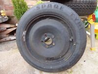 Ford spare wheel (spacesaver )