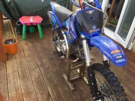 140cc m2r pitbike
