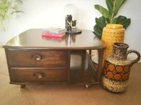 Vintage/retro Ercol coffee table