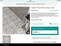 British Ceramics Devonstone Grey Tiles